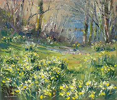 Riverside Daffodils, Lake District
